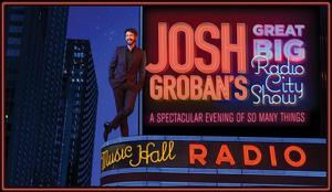 Josh Groban's April 18 Radio City Show Postponed to October 5