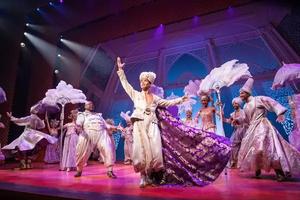 Broadway Brainteasers: ALADDIN Three Wishes Word Search
