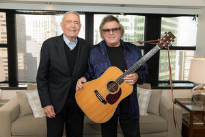 Don McLean To Be The Focus Of The Big Interview With Dan Rather