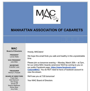 BWW Feature: MAC AWARD RECIPIENTS ANNOUNCED On Facebook Live