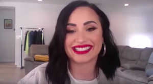 VIDEO: See Demi Lovato and Jonathan Van Ness on THE TONIGHT SHOW's 'Fallon at Home'