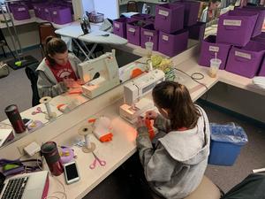 Flat Rock Playhouse Costume Shop Sews Masks to Combat Shortage