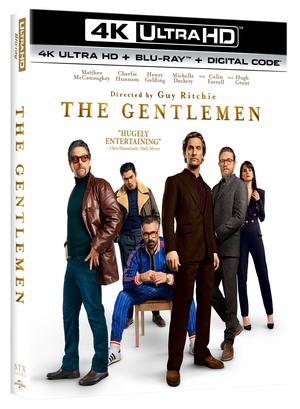 Guy Ritchie's THE GENTLEMEN Heads to 4K Ultra HD, Blu-ray, and DVD