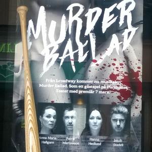 MURDER BALLAD at Playhouse Teater