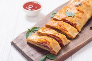 Celebrity Caterer Andrea Correale Shares Easy STROMBOLI RECIPE Using Leftovers