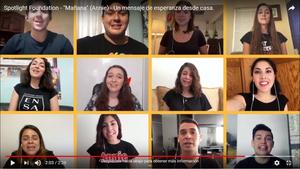 VIDEO: SPOTLIGHT FOUNDATION Mexico envía un mensaje de esperanza para un mejor MAÑANA (ANNIE)