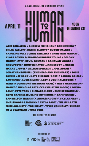 Human To Human Festival Announces Final Line Up, Featuring Grouplove, Hunter Hayes, & More!