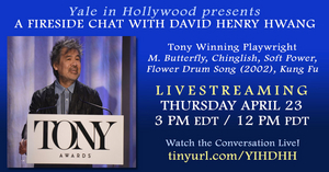 Yale In Hollywood to Present Free Webinar With David Henry Hwang