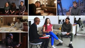 Royal Court Theatre Release BBC Bitesize Films For GCSE Drama Students Study Aid