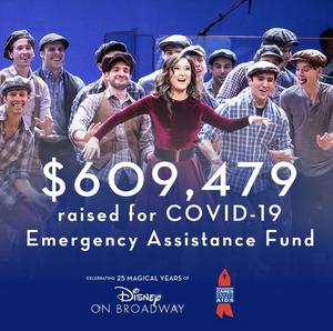 Disney on Broadway Concert Stream Raises $609,479!