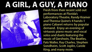 MusicalFare Presents a Livestream Performance of A GUY, A GIRL & A PIANO