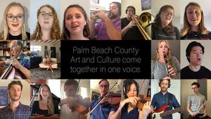 Palm Beaches' Four Major Arts Organizations Are ONE VOICE