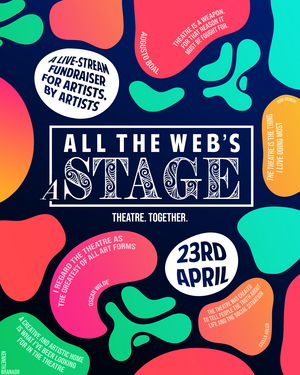 Theatre together's ALL THE WEB'S A STAGE to Feature Stephen Fry, Kerry Ellis, Joanne Clifton and More
