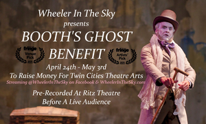 Wheeler In The Sky Will Present a Benefit Stream of BOOTH'S GHOST