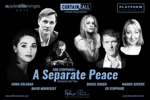 David Morrissey, Denise Gough and More to Headline Tom Stoppard's A SEPARATE PEACE Virtual Play Reading