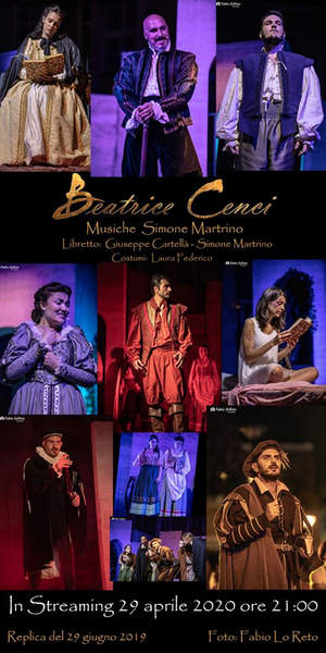BWW Feature: BEATRICE CENCI OPERA MUSICAL in streaming su  You Tube
