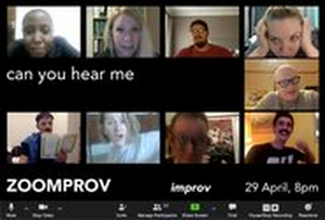 POPArt Theatre Presents Zoom-Prov: Live Improv In A Time Of Covid
