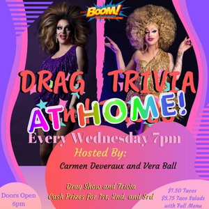 BWW Review: DRAG TRIVIA AT HOME with Carmen And Vera