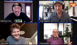 Drew Gasparini Talks His New Album and More, With Colton RyanandRaymondJ. Lee on Backstage LIVE With Richard Ridge