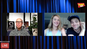 Jeremy Jordan and Ashley Spencer Talk Parenthood and More on Backstage LIVE with Richard Ridge