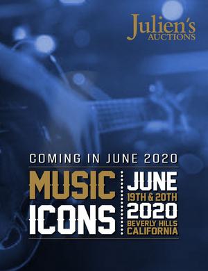 Prince's 1984 Cloud Guitar, Paul McCartney's Beatles Lyrics & Johnny Cash's Iconic Coat to Rock Julien's Auctions 'Music Icons'