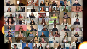 VIDEO: Steve Blanchard, Meredith Inglesby, James Judy & More Sing 'Seasons of Love' With BMA Students