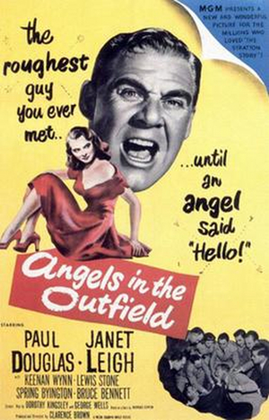 Streaming Review: ANGELS IN THE OUTFIELD, The 1951 Movie is an Entertaining Baseball Story