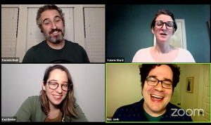 VIDEO: Hideout Theatre Performs Live Improv Shows on Twitch