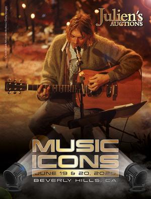 Kurt Cobain's 'MTV Unplugged' Guitar to Headline Julien's Auctions Music Icons