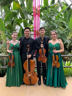 Dasani String Quartet Takes Silver Medal at 2020 Fischoff National Chamber Music Competition