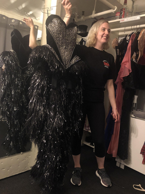 Behind the Curtain: Interview With Adrienne Littlefield - Dresser on MOULIN ROUGE!