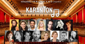 LIVE STREAM CONCERT KARANTON TO SUPPORT THE PEOPLE BEHIND THE STAGE at Vasateatern