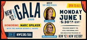 Laura Benanti and Celia Keenan-Bolger to Host NEW 42 VIRTUAL GALA 2020