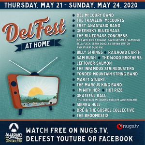 DelFest Has Announced the Free Virtual Festival 'DelFest At Home!'