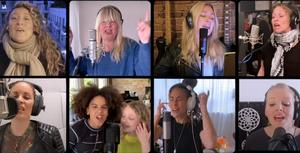 VIDEO SWEDISH ARTIST IN COVID -19 SONG VI HÅLLER UT/RESISTIRE