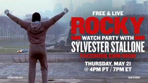 Sylvester Stallone To Host Free ROCKY Livestream