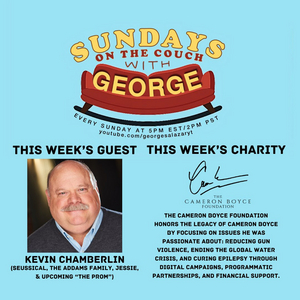 Kevin Chamberlin to Appear as the Next Guest on SUNDAYS ON THE COUCH WITH GEORGE