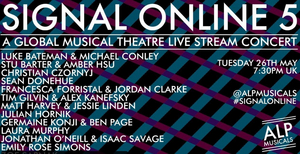 New Musical Theatre Writers to Take Part in Upcoming SIGNAL ONLINE Concert