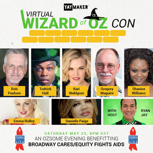 Todrick Hall, Shanice Williams & More Will Take Part in VIRTUAL WIZARD OF OZ CON This Saturday