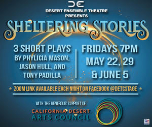 BWW Preview: DETC Will Present Three Weeks of Original SHELTERING STORIES Online on Friday Nights.