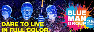 Van Wezel Performing Arts Hall Announces Rescheduled Dates for BLUE MAN GROUP
