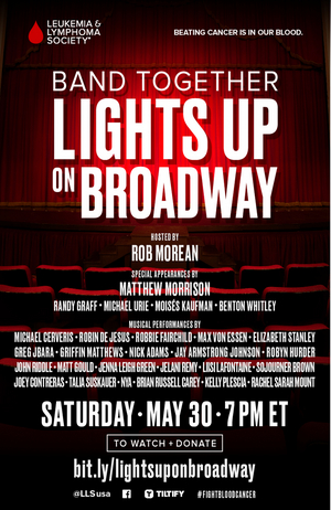 Michael Cerveris, Max von Essen, Robin de Jesus and More Join BAND TOGETHER: LIGHTS UP ON BROADWAY
