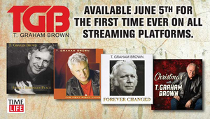 T. Graham Brown Partners with Time LifeFor Digital Re-Issue Of Four Classic Albums