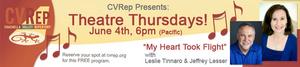 Coachella Valley Repertory Theatre Presents Theatre Thursdays with Leslie Tinnaro