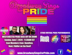 Tamar Greene, Adam B. Shapiro and More to Take Part in Virtual BROADWAY SINGS FOR PRIDE