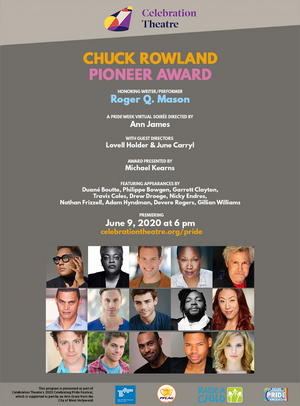 Garrett Clayton & More to Take Part in Chuck Rowland Pioneer Award Virtual Ceremony Celebrating Roger Q. Mason