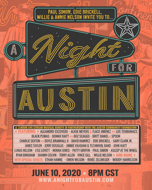 Paul Simon, Owen Wilson, Ethan Hawke, Renee Zellweger, and More Team Up for 'A Night For Austin'