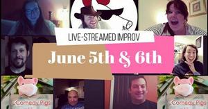 The Comedy Pigs to Present First-Ever Virtual Improv Show
