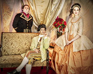 BWW Feature: Live Theatre Triumphantly Returns to the SCERA with THE SCARLET PIMPERNEL