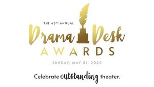65th Annual Drama Desk Awards to Air Saturday, June 13th